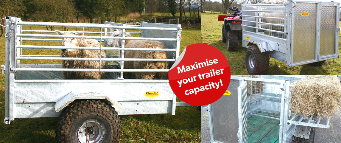 5x3'3 Sheep Trailer - Ideal for moving sheep around!