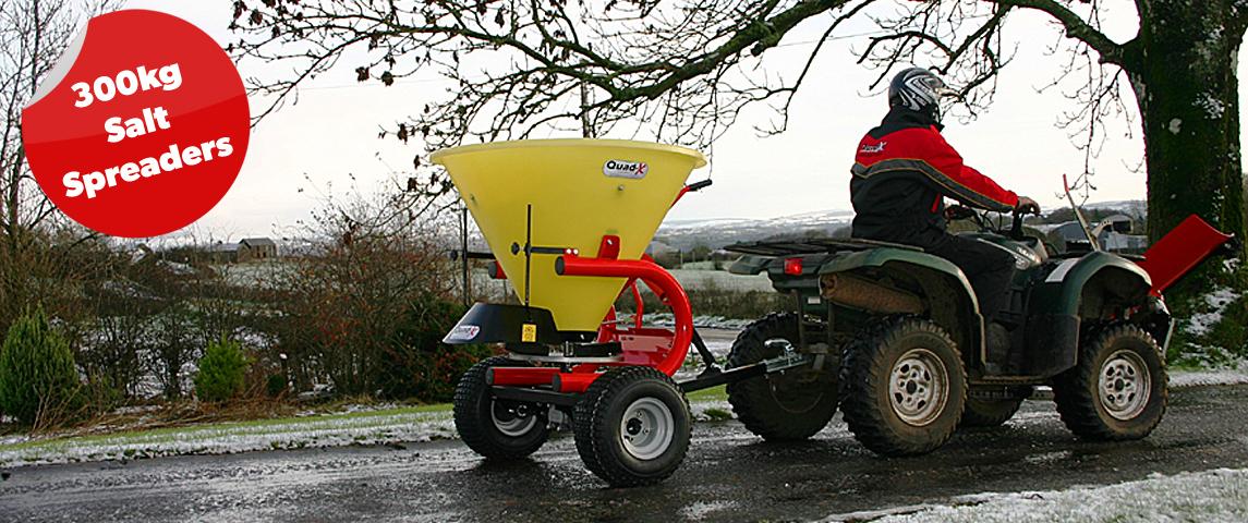 25kg - 50kg Salt Spreader - Ideal for ise on roads, commercial premises or carparks!!