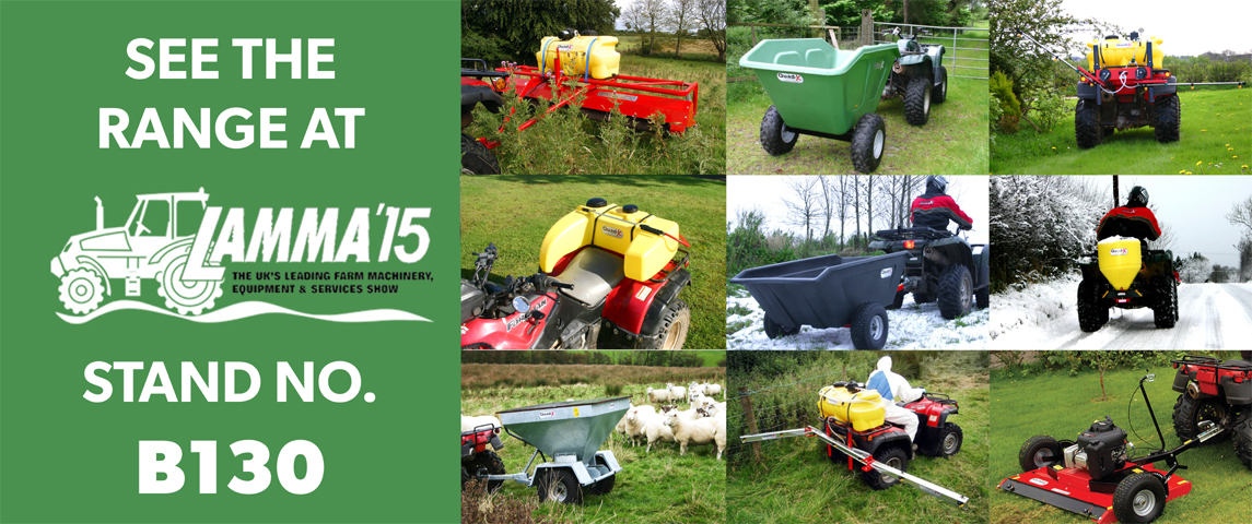 Come see us at the Lamma Show - Stand B130