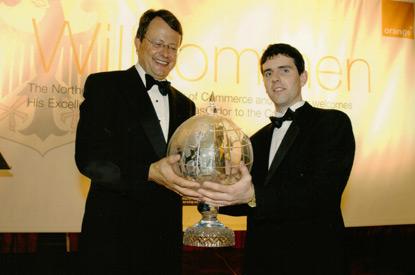 Management & Leadership Award, 2003