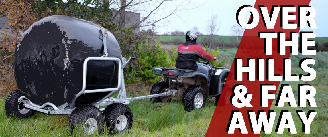 ATV Bale Trailer