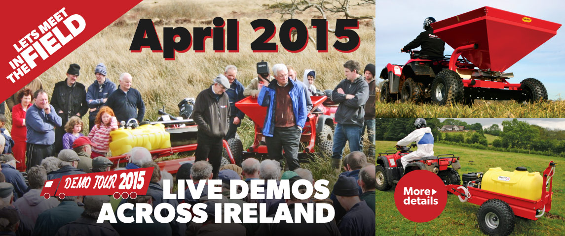 Quad-X Demo Tour 2015 - Let's meet in the field!