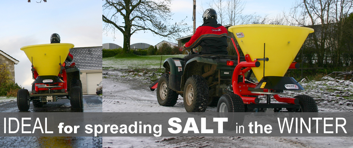 300kg Salt Spreader