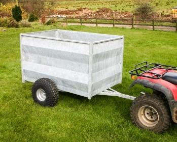 5X3'3 Stock Trailers, Solid Sides