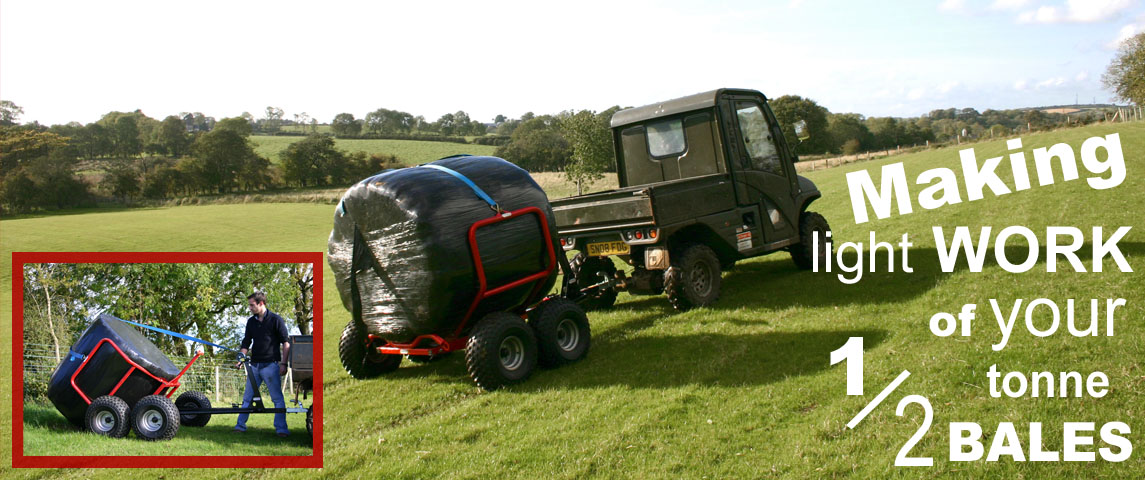 Transport your 1/2 tonne bales with ease!!