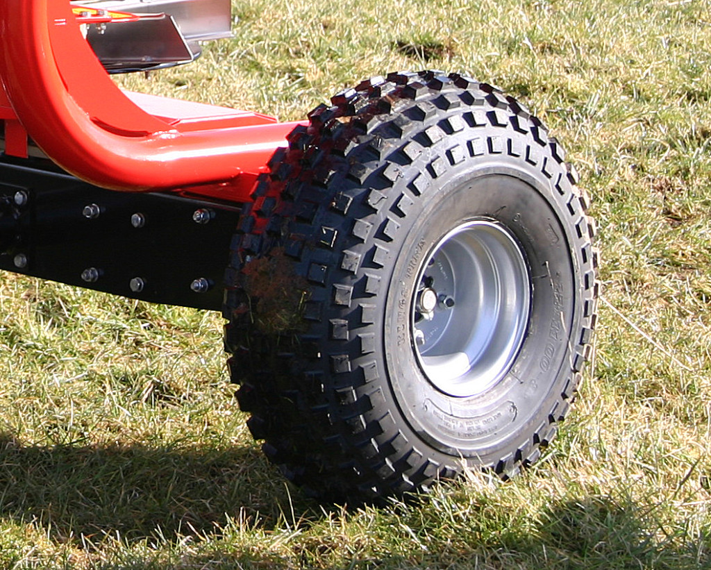 Flotation Tyres for wet or soft ground!