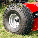 Flotation Tyres as Standard