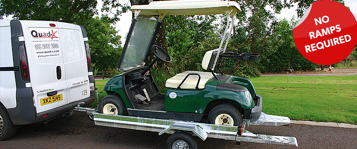 Designed to make loading & off loading of your golf buggy simple, easy & fast!