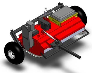 Power Shredder Deck Design