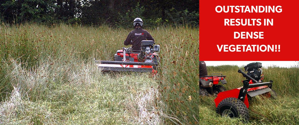 Outstanding results in dense vegetation!!