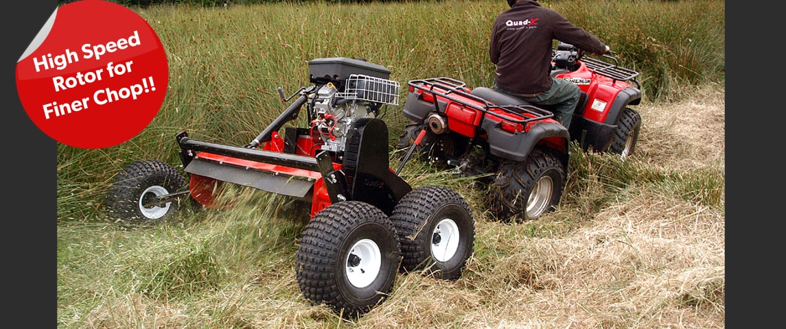 Power Shredder Quad Accessories Atv Accessories For Farm Quads