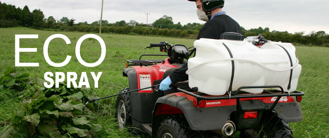 The Eco spray is Quad-X's basic model suitable for boom spraying!