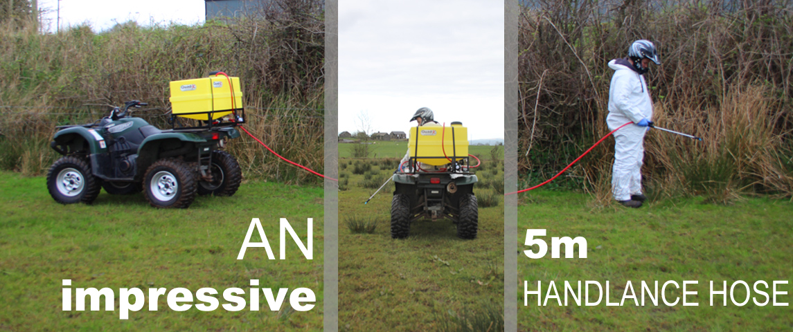 135L Pro Sprayer - The safer solution to weed spraying!!