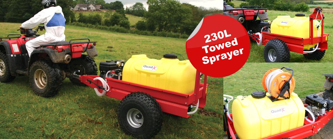 230L Towed Sprayer