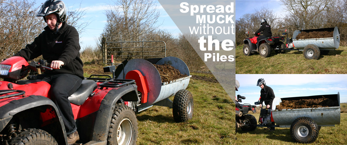 ATV MUCK SPREADER