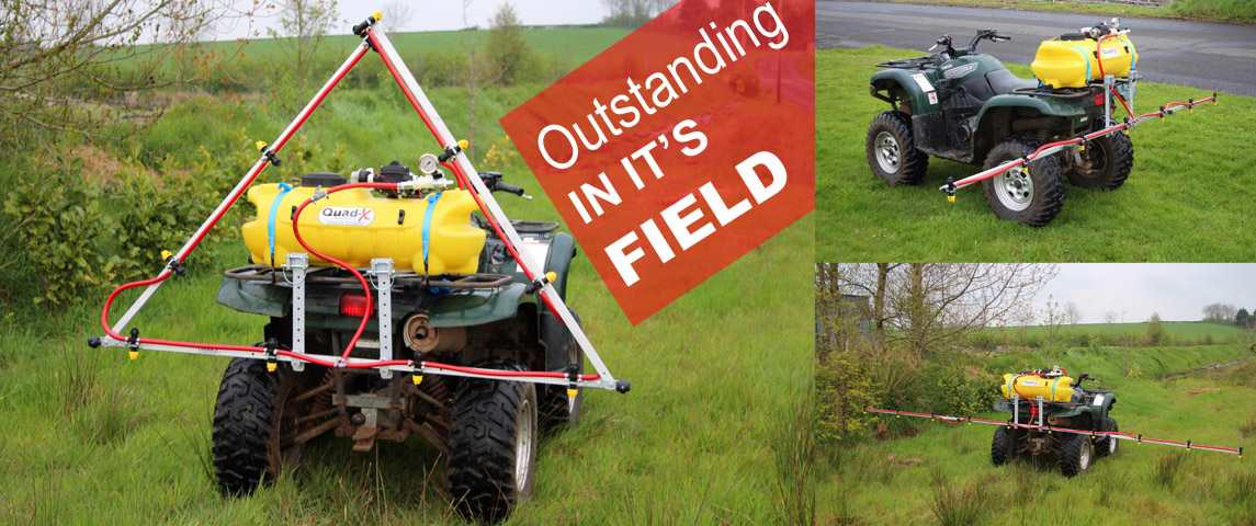 Precision Booms are available in 5ft, 11ft & 16ft spraying widths