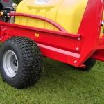 Optional 22x11-8 flotation tyres