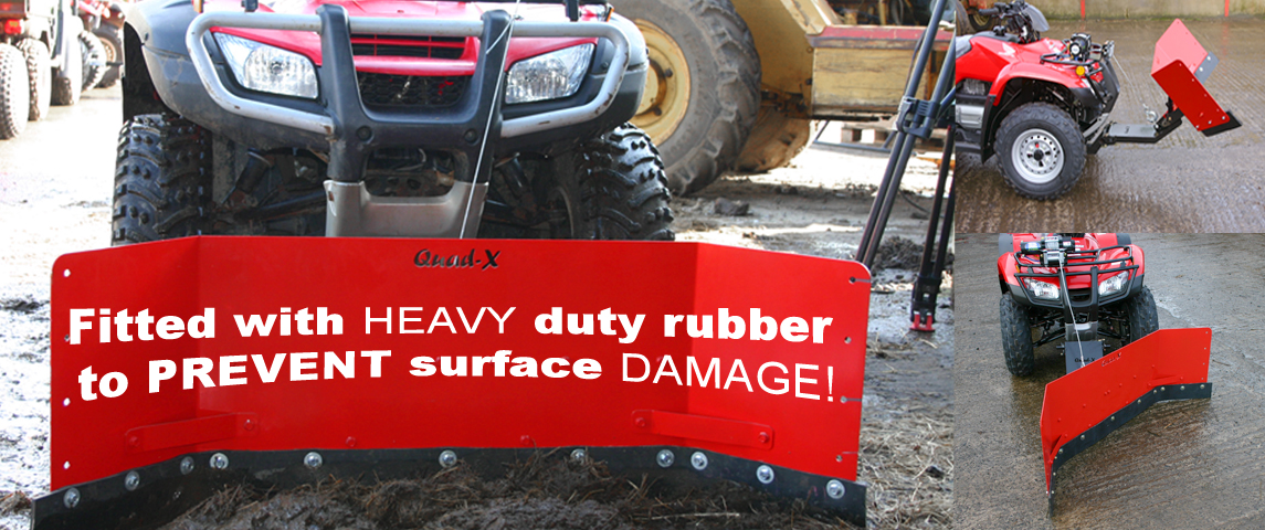 Quad-X Yard Scraper - Ideal solution to yard upkeep!!