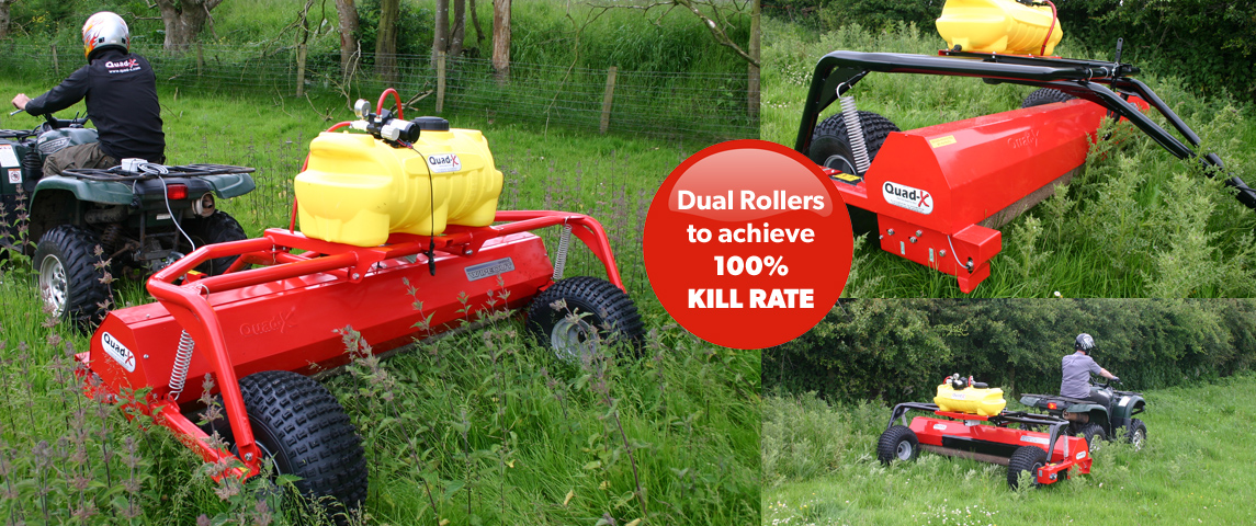 The only weed control system to achieve 100% KILL RATE!!