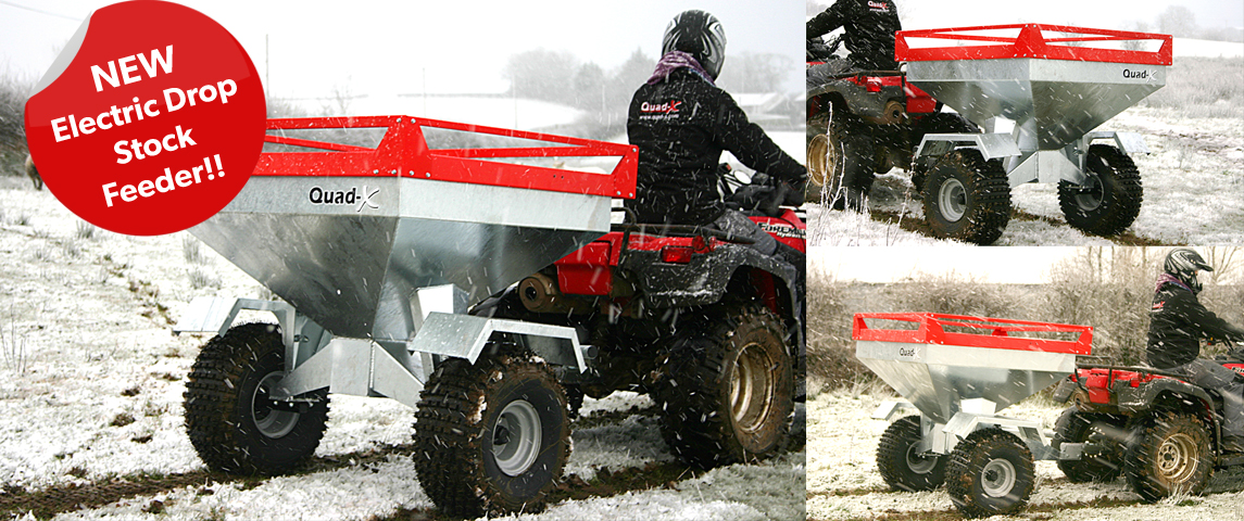 Ideal for those looking better control over stock feeding and better ground clearance!!