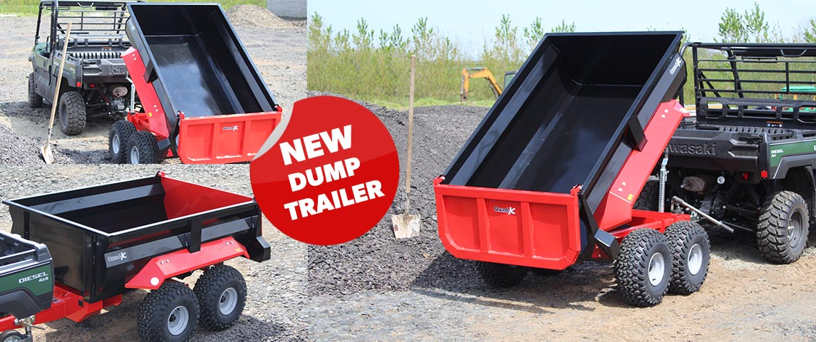 Quad-X New Dump Trailer