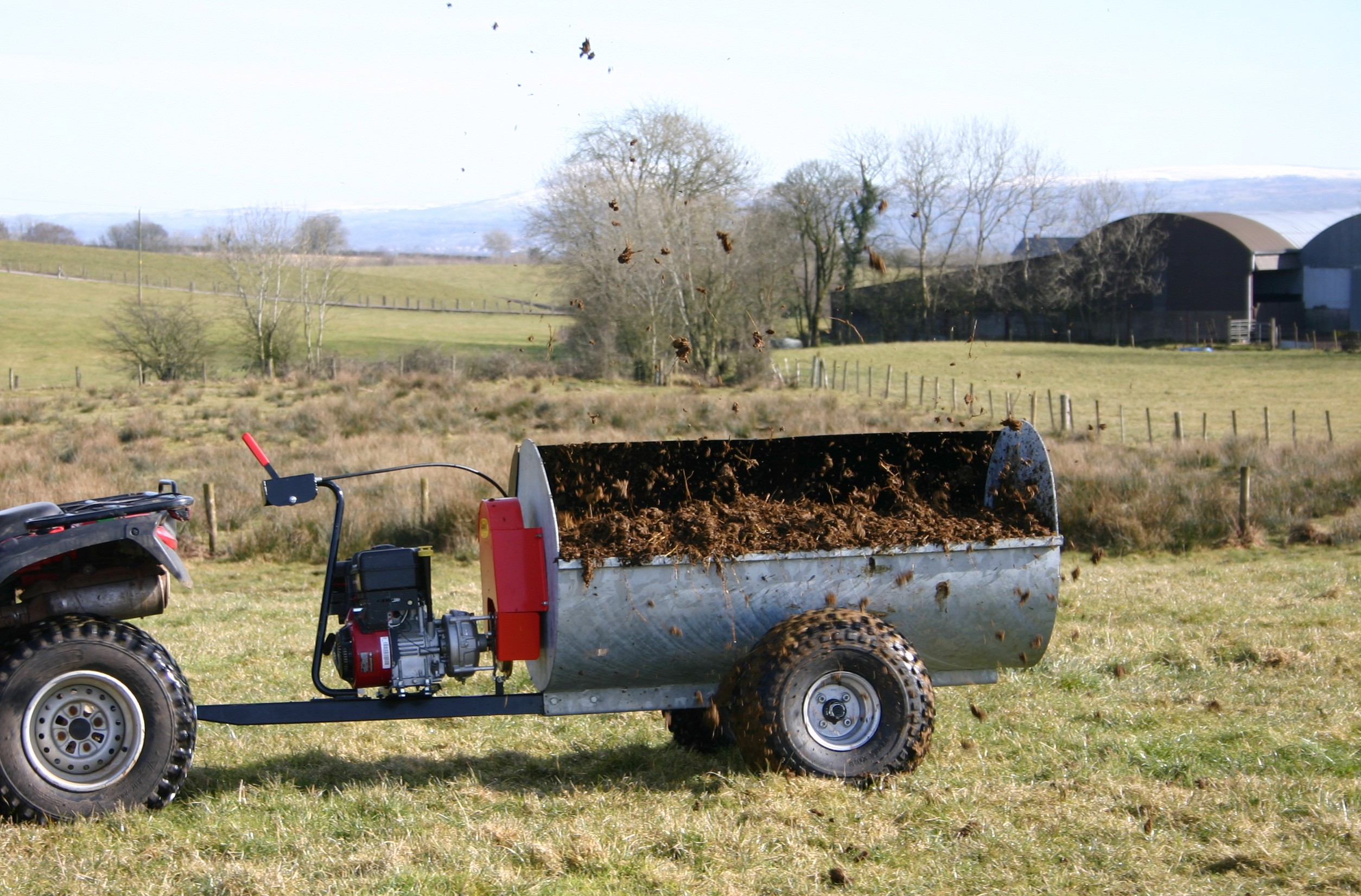 make the most of your atv this autumn  atv accessories for farm quads