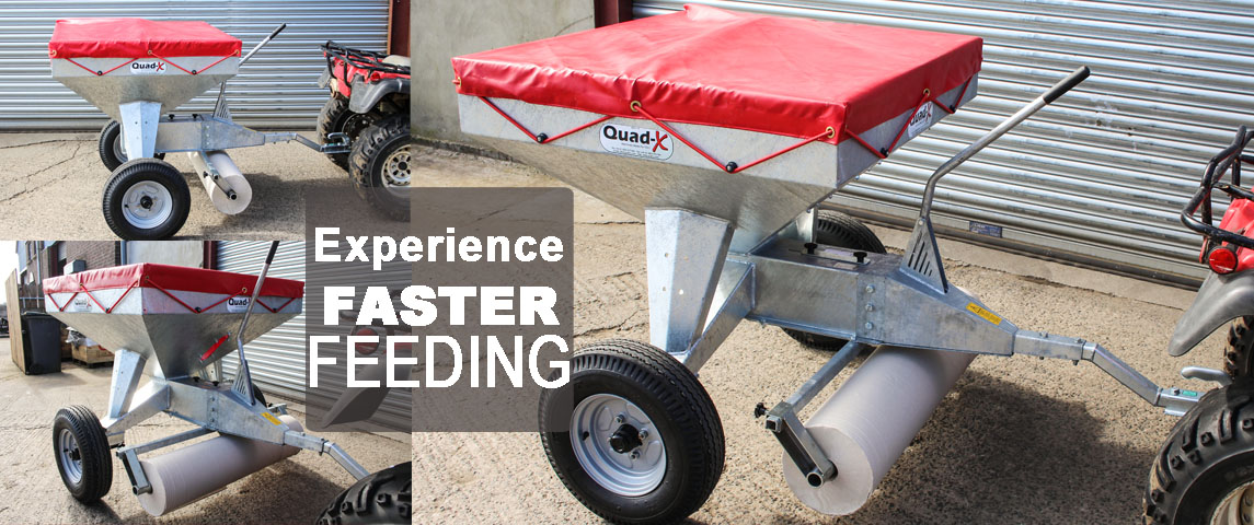 Make chick feeding faster and easier with the Quad-X Chick Feeder...