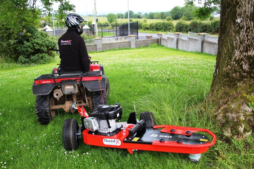 ATV towed Strimmer - Quad trailed brush cutter