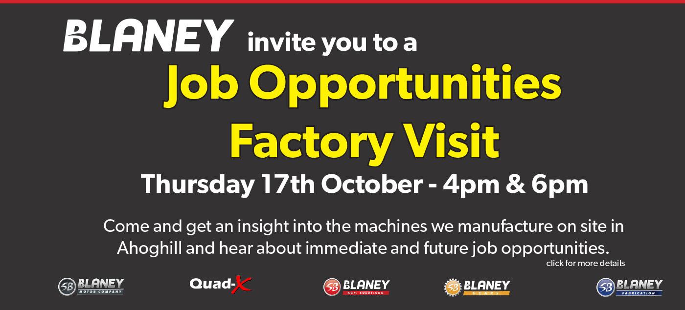 Job Opportunities Factory Visit